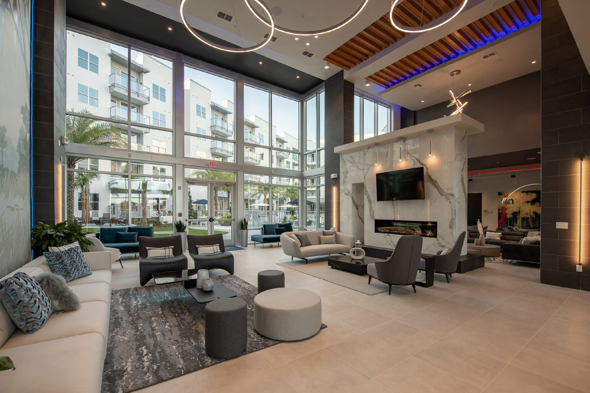clubhouse at Sanctuary at CenterPointe apartments in Altamonte Springs FL